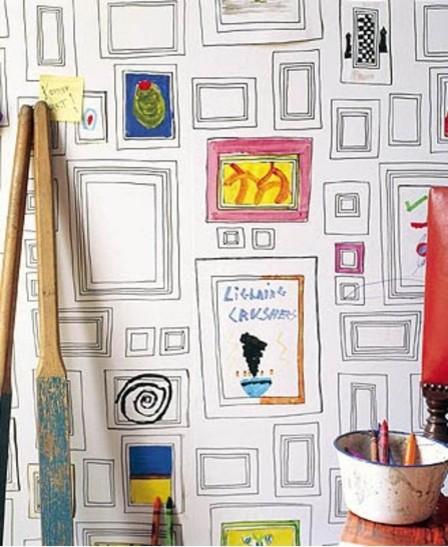 Taylor & Wood Frames eclectic-wallpaper