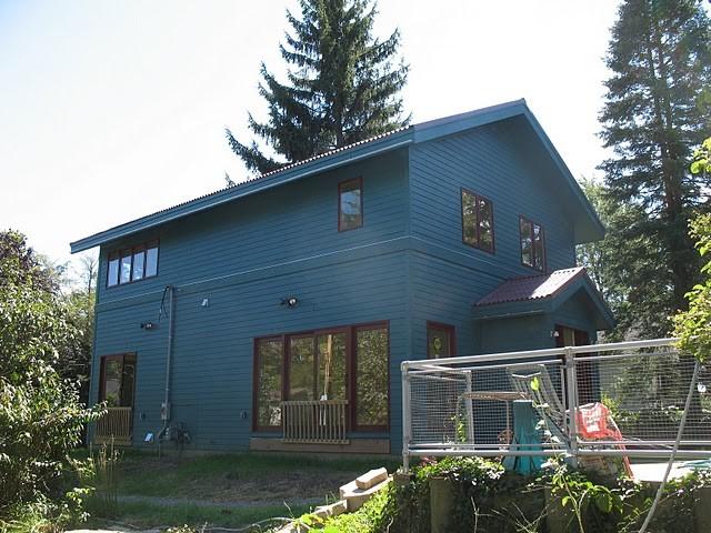 Ann Arbor Custom Home contemporary-exterior