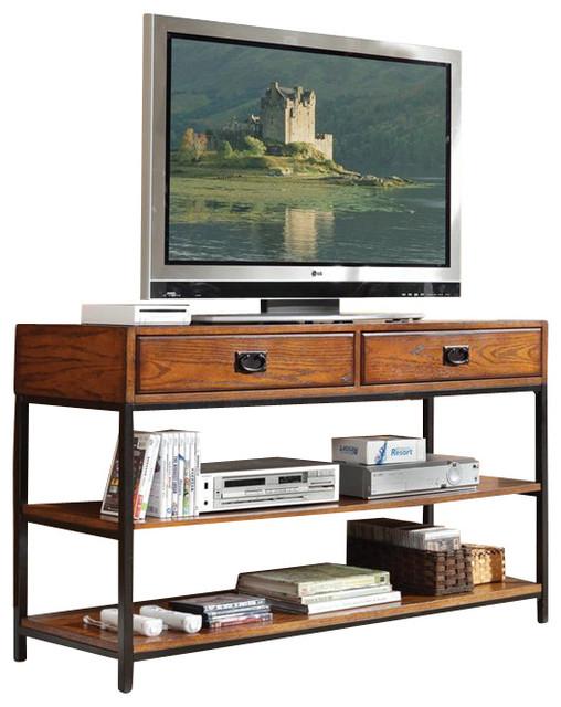 Home Styles Modern Craftsman Media Console modern-media-storage