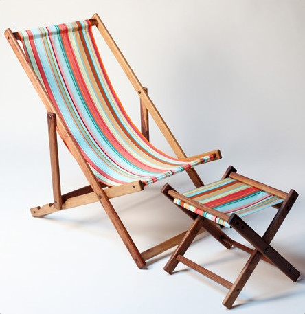 Brighton Beach Deck Chair contemporary outdoor chairs