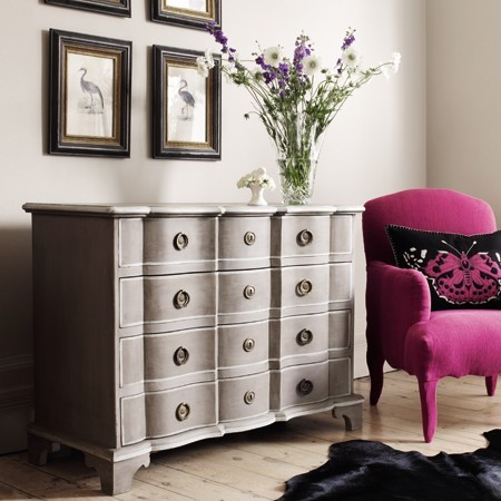 Ile De Re Chest Of Drawers Traditional Dressers By