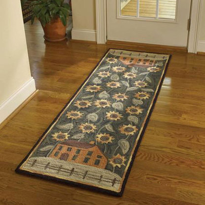 Primitive country style rugs for Country style kitchen rugs
