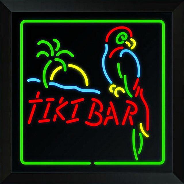 Trans Globe Lighting LED Tiki Bar Sign Wall Light ...