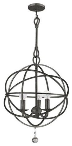 Solaris English Bronze Pendant Light  chandeliers