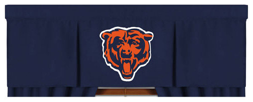 Nfl Chicago Bears Valance Mvp Football Window Treatment Contemporary Window Treatments By