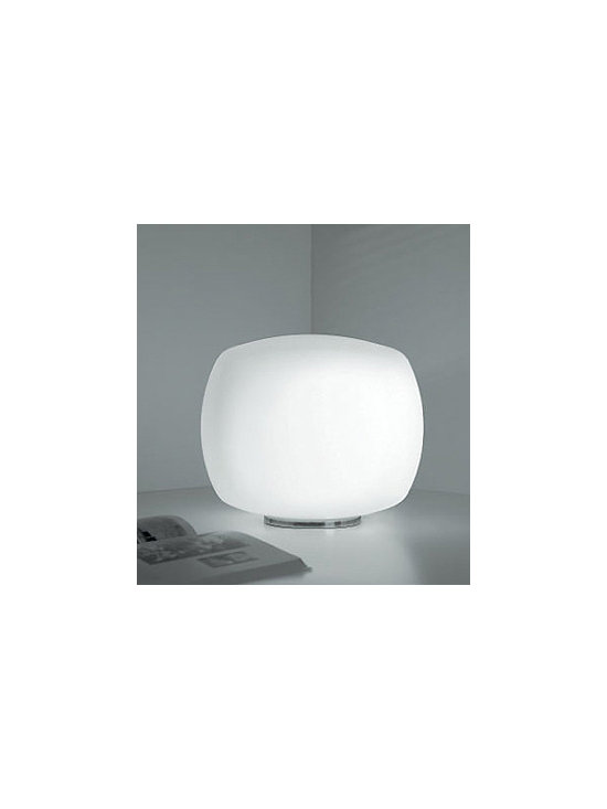 Kube Table Lamp By Leucos Lighting - Kube from Leucos is a great addition to the Kube family.