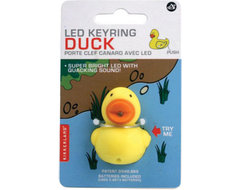 Kikkerland Design Inc » Products » LED Keychain + Duck