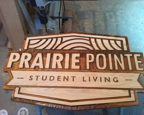 Past Projects - Custom Hand carved Sign