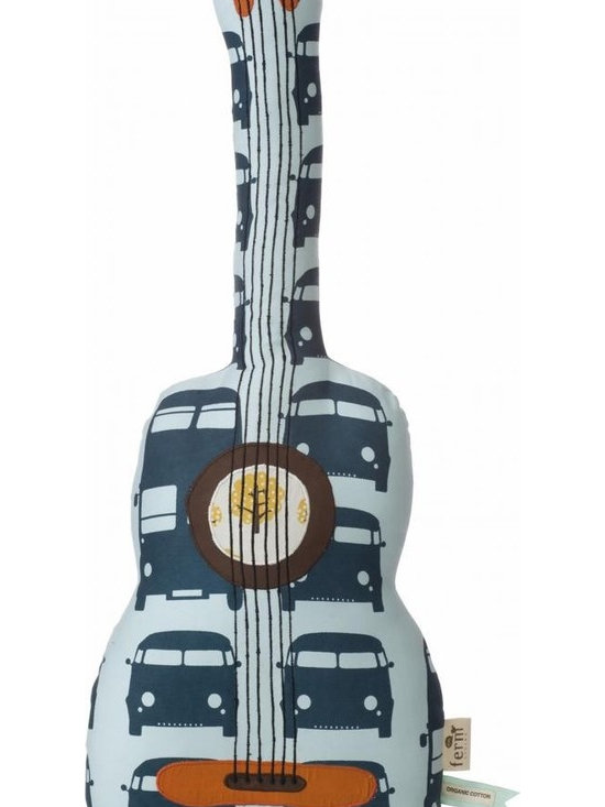 Ferm Living Organic Guitar Pillow - Ferm Living Organic Guitar Pillow