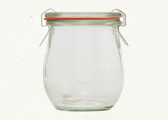 7.4 oz Weck Jar, set of 4 - Terrain traditional-food-containers-and-storage