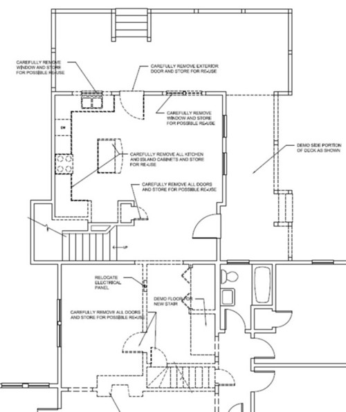 Kitchen layout help fridge placement