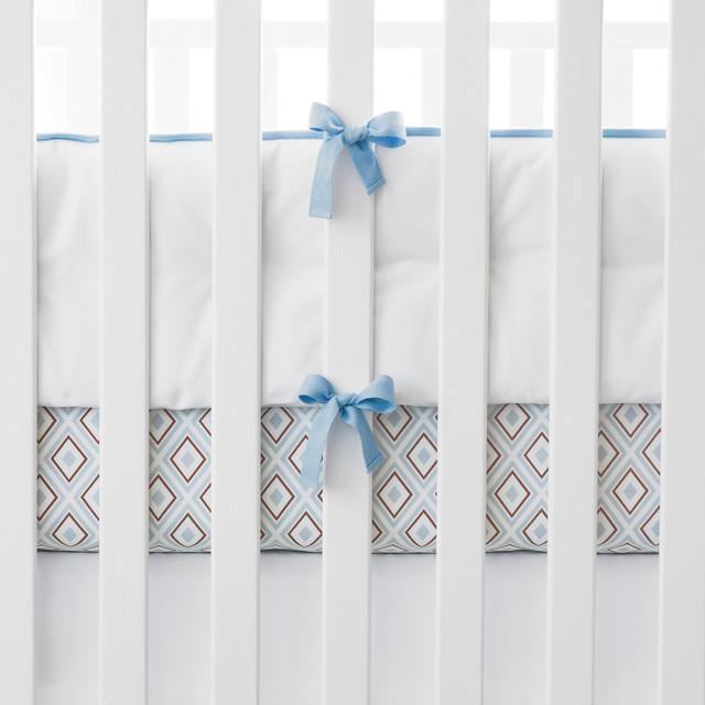 Chambray Nursery Basics baby-bedding