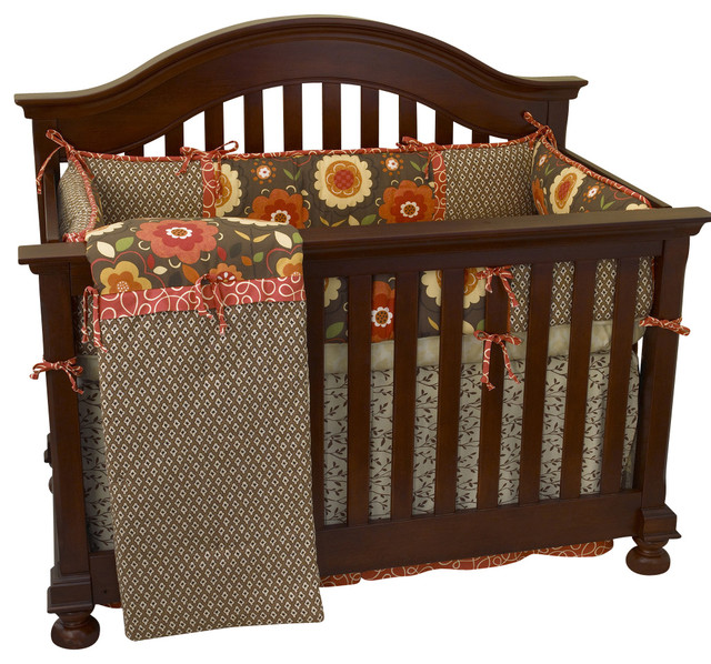 Peggy sue 4pc crib bedding set modern baby bedding by cotton tale designs - Modern baby bedding sets ...