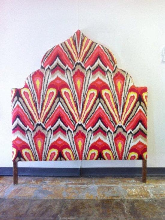 Custom Trina Turk Upholstered Headboard -