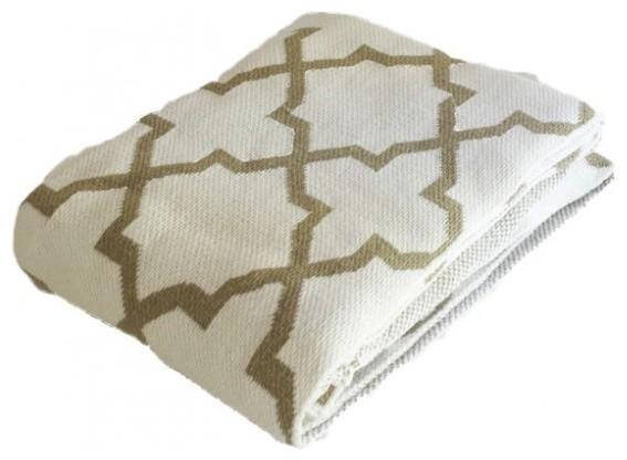 Moroccan Throw Blanket mediterranean-throws
