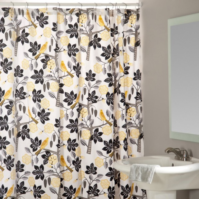Black And Yellow Curtains Related Keywords & Suggestions - Black ...
