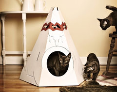 Native American Teepee Litter Box eclectic pet accessories