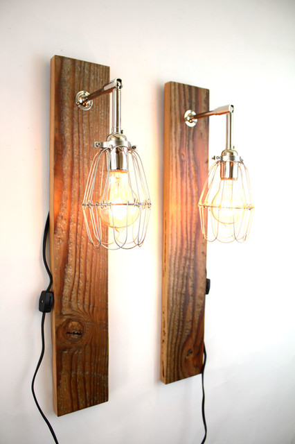 'Mesic' industrial wall sconce modern-wall-sconces