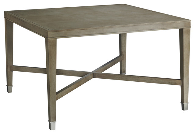 Larchmont Square Dining Table Baker Furniture Modern Dining Tables