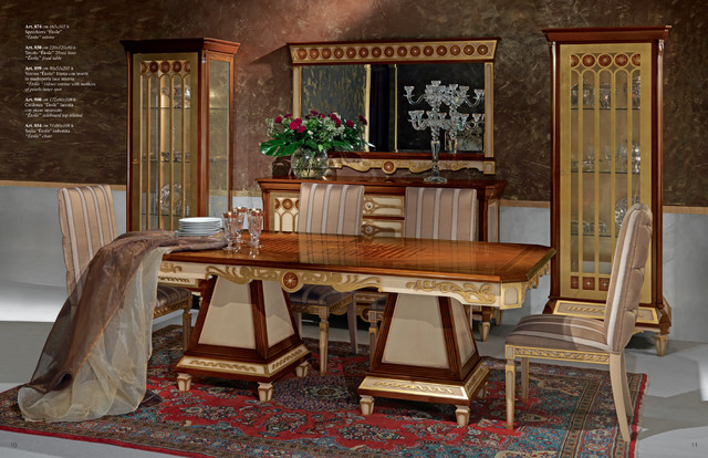 Italian furniture, special order dining-tables