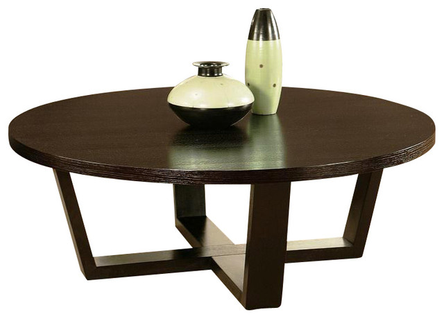 Wilshire Round Coffee Table By Abbyson Living Modern Coffee Tables By Madison Seating