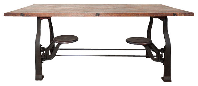 V45 Dining Table, Large eclectic-dining-tables