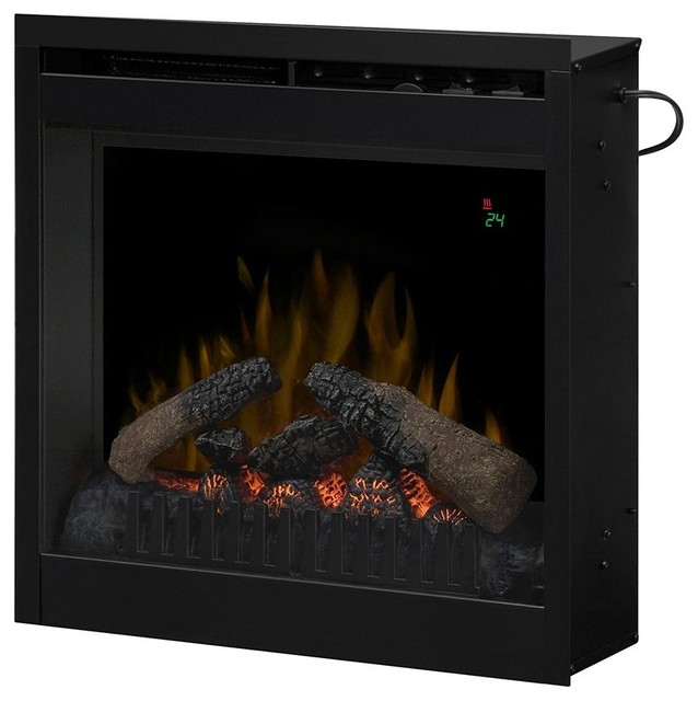 Dimplex 20 In Plug In Electric Fireplace Insert Df2024l