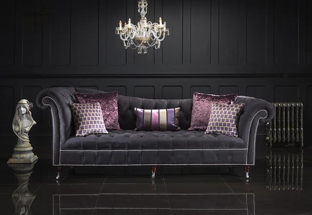 sophia chesterfield sofa modern sofas manchester uk. Black Bedroom Furniture Sets. Home Design Ideas