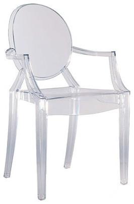 Kartel Louis Ghost Chair modern-living-room-chairs