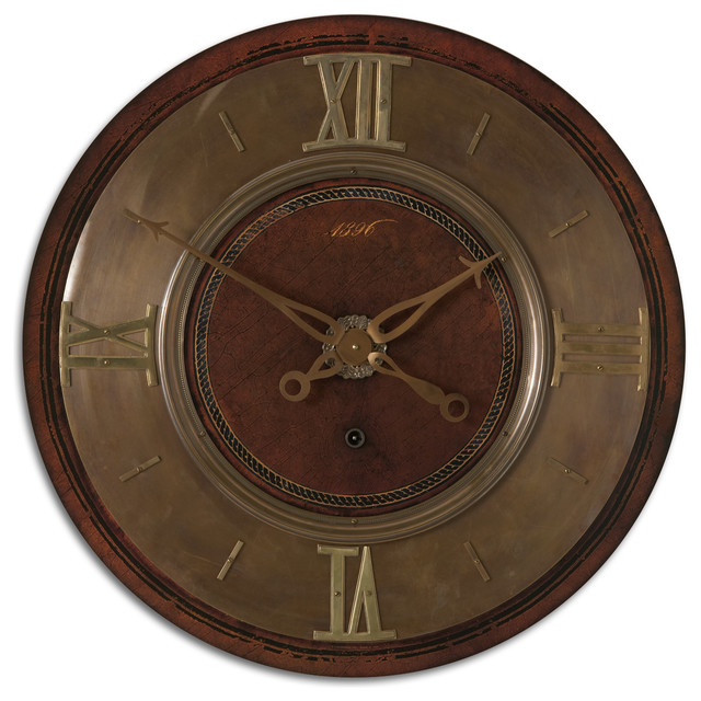 "1896 30"" Wall Clock contemporary-wall-clocks"