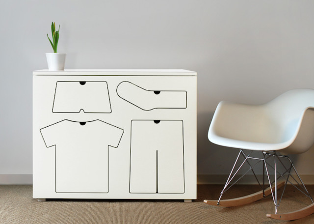Training Dresser modern-kids-dressers
