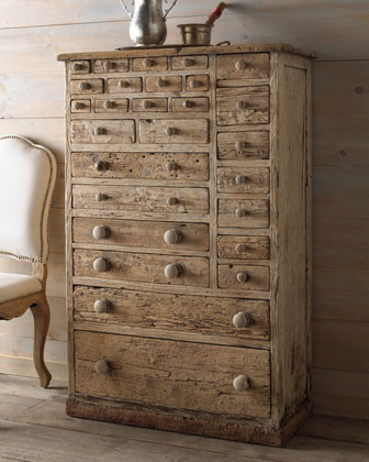 """Hampton"" Storage Chest  traditional-dressers"