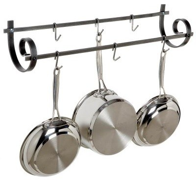 Decor Utensil and Pot Rack modern-indoor-pots-and-planters