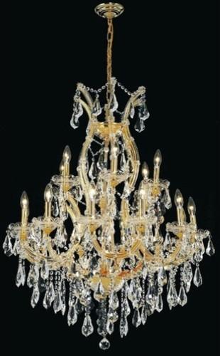 Maria Theresa 19 Light Chandelier modern-chandeliers
