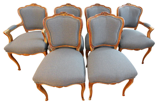 Louis IX Dining Chairs (6)