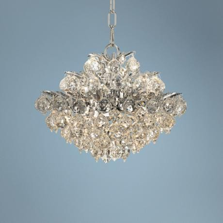 Vienna Full Spectrum Chrome and Crystal Chandelier traditional-chandeliers