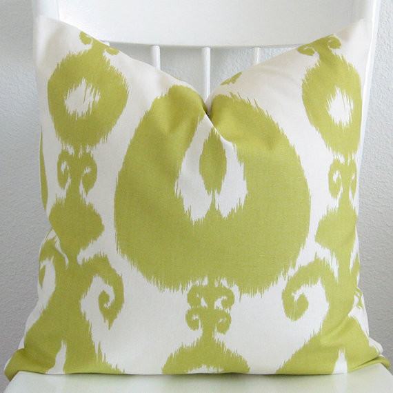 Decorative Ikat Pillow Cover By Chic Decor Pillows eclectic-pillows