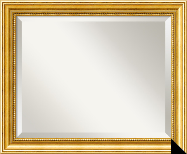 Townhouse Gold Wall Mirror traditional-mirrors