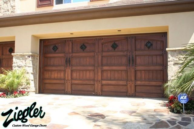 Mediterranean style garage doors mediterranean garage for Mediterranean garage doors