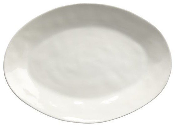 Marin White Large Oval Platter modern-serving-dishes-and-platters
