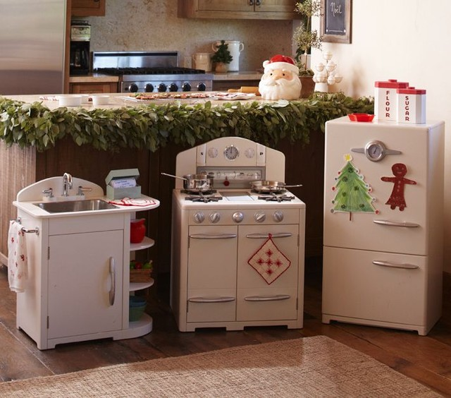 Pottery Barn Kids Kitchen: White Retro Kitchen Collection