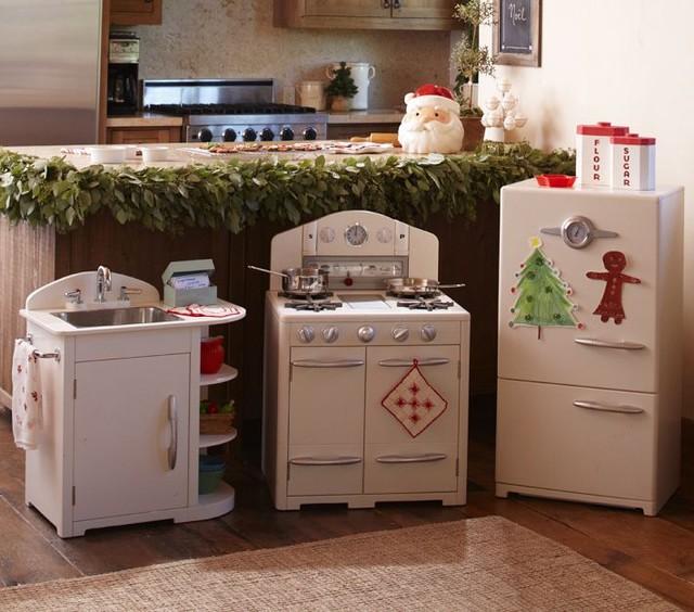 White Retro Kitchen Collection traditional-kids-toys
