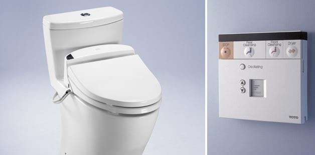 Toto Products contemporary-toilet-accessories