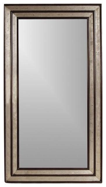 Full length floor mirror silver merlot fram for Silver floor length mirror