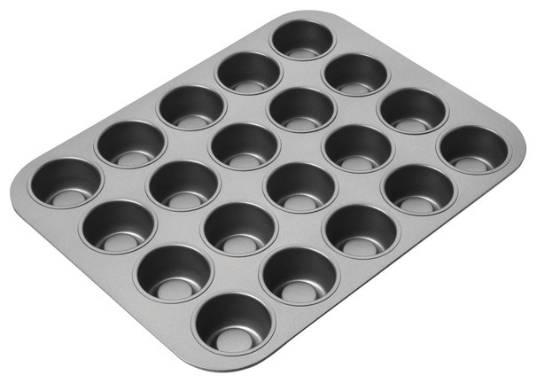 Chicago Metallic Tea Cake Pan contemporary-cupcake-and-muffin-pans