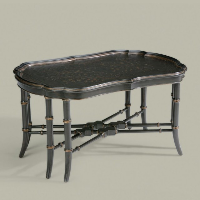 Traditional Coffee Tables Ethan Allen: Collector's Classics Mirabelle Chinoiserie Coffee Table