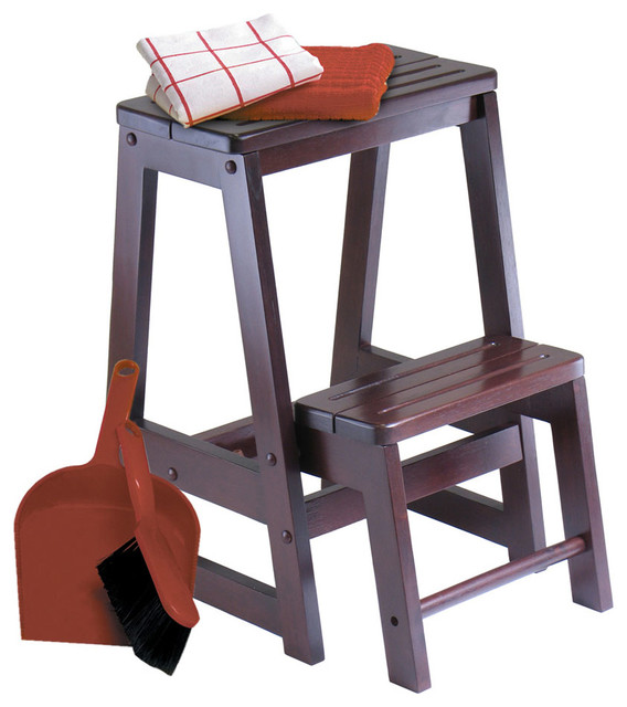 Step Stool Modern Ladders And Step Stools By Modern