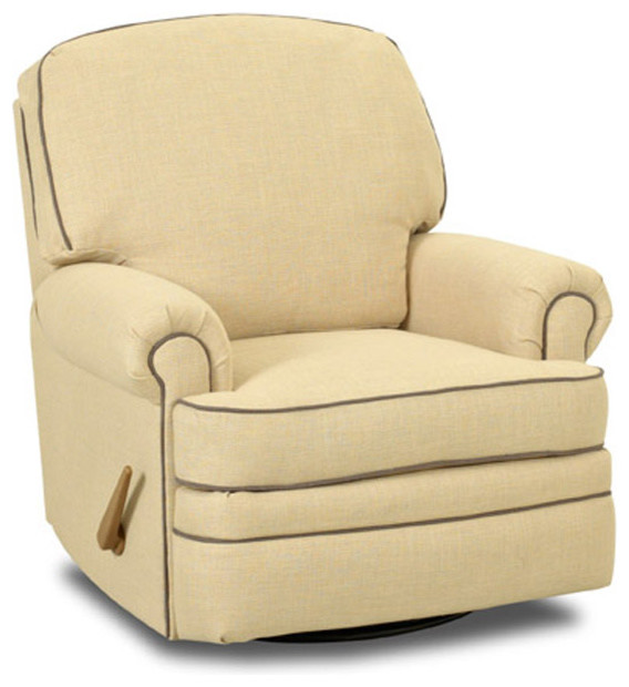 Stanford Swivel Gliding Recliner Chair - Modern - Rocking Chairs - by Rosenberry Rooms