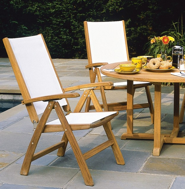 Kingsley Bate St Tropez Adjustable Armchair Patio Furniture And Outdoor Furniture Miami