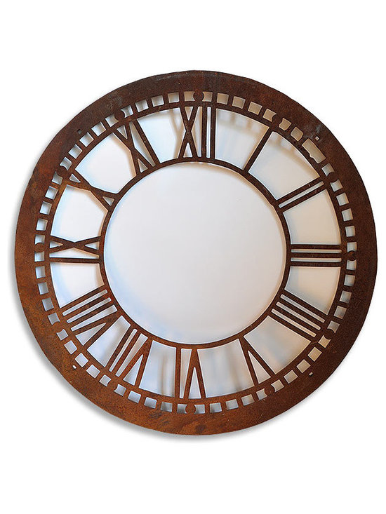 Unique Items- things to design a room around - Cast iron clockface from a Vermont courthouse